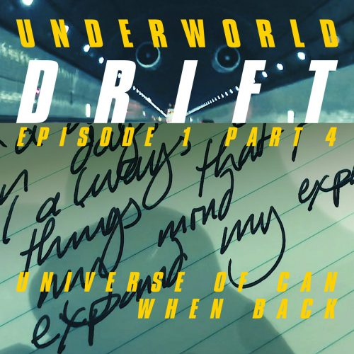 Underworld - Universe Of Can When Back cover image