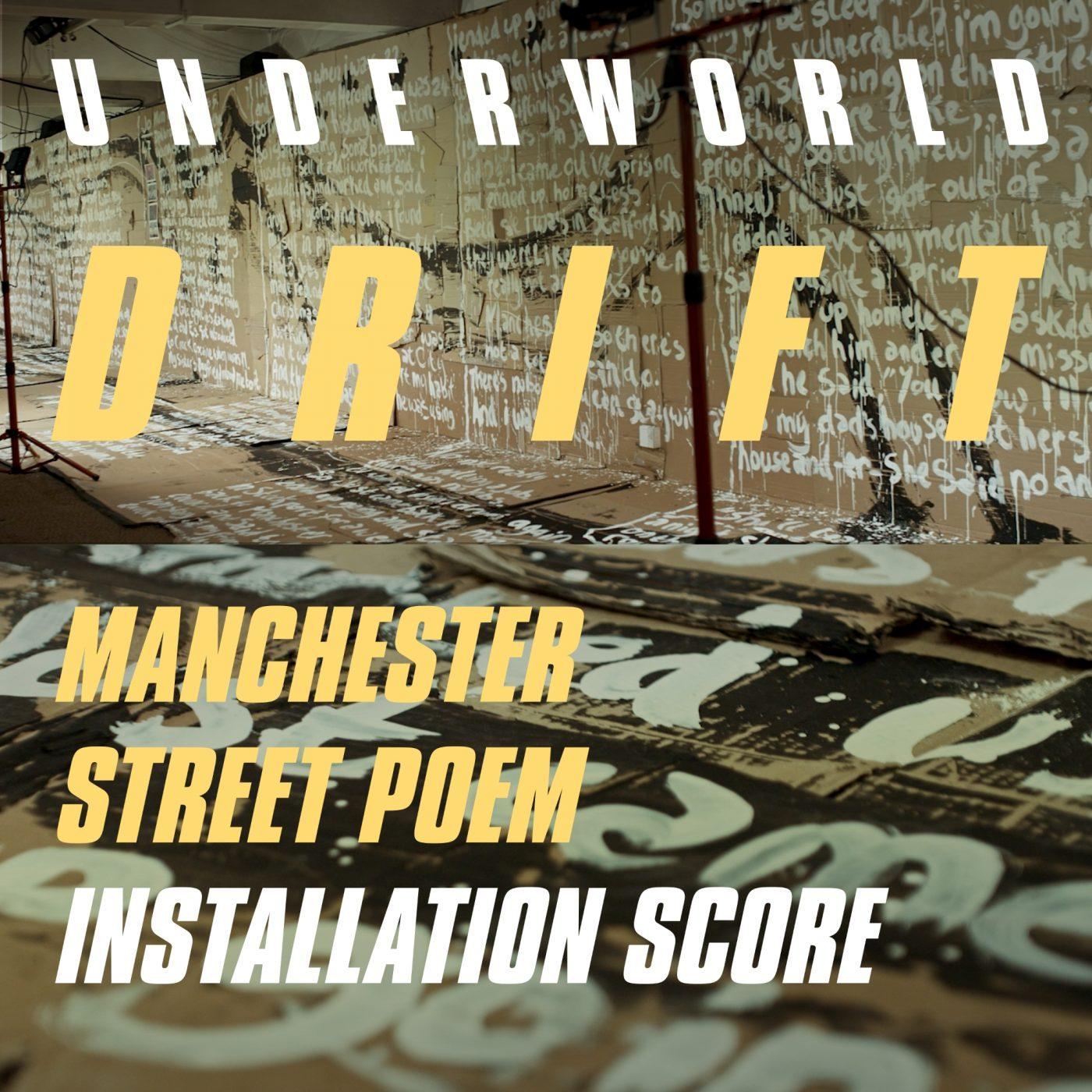 Manchetser Street Poem Installation Score